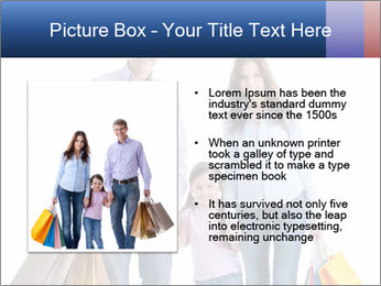 Family Members Carrying Shopping Bags PowerPoint Templates - Slide 13