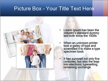 Family Members Carrying Shopping Bags PowerPoint Templates - Slide 20