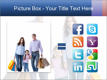 Family Members Carrying Shopping Bags PowerPoint Templates - Slide 21
