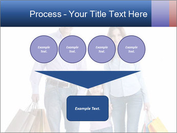 Family Members Carrying Shopping Bags PowerPoint Templates - Slide 93