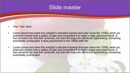 Apple Blossom PowerPoint Template - Slide 2