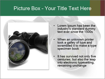 Camomiles Reflecting in Binoculars PowerPoint Templates - Slide 13