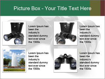 Camomiles Reflecting in Binoculars PowerPoint Templates - Slide 14