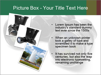Camomiles Reflecting in Binoculars PowerPoint Templates - Slide 17