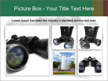 Camomiles Reflecting in Binoculars PowerPoint Templates - Slide 19