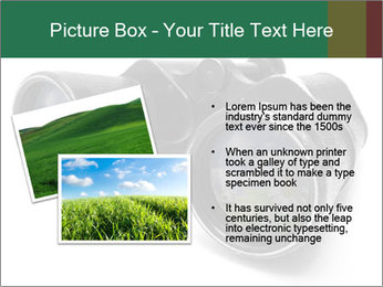 Camomiles Reflecting in Binoculars PowerPoint Templates - Slide 20
