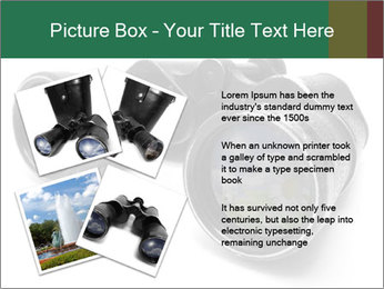 Camomiles Reflecting in Binoculars PowerPoint Templates - Slide 23