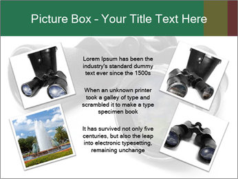 Camomiles Reflecting in Binoculars PowerPoint Templates - Slide 24