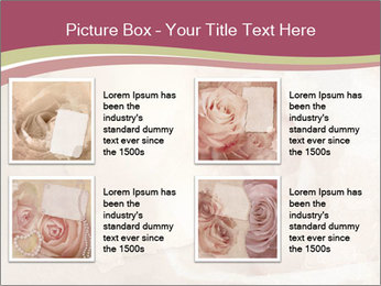 Vintage Invitation Card PowerPoint Templates - Slide 14