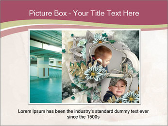 Vintage Invitation Card PowerPoint Templates - Slide 15