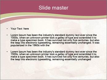 Vintage Invitation Card PowerPoint Templates - Slide 2