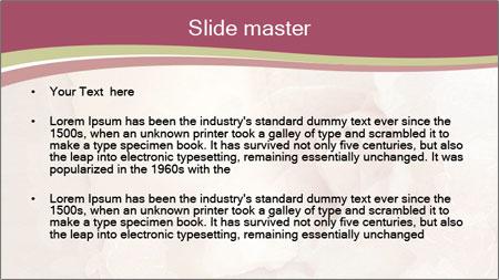 Vintage Invitation Card PowerPoint Template - Slide 2