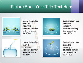 Ladder to Glass Fishbowl PowerPoint Template - Slide 14