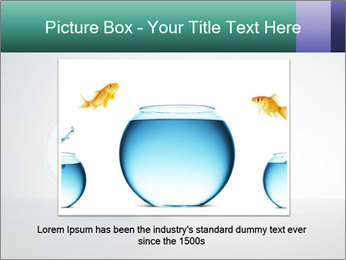 Ladder to Glass Fishbowl PowerPoint Template - Slide 15