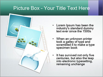 Ladder to Glass Fishbowl PowerPoint Template - Slide 17