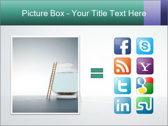 Ladder to Glass Fishbowl PowerPoint Template - Slide 21