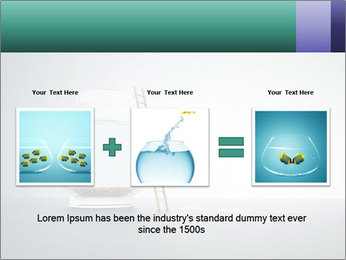 Ladder to Glass Fishbowl PowerPoint Template - Slide 22
