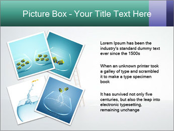 Ladder to Glass Fishbowl PowerPoint Template - Slide 23