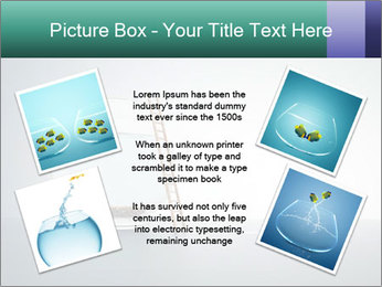 Ladder to Glass Fishbowl PowerPoint Template - Slide 24