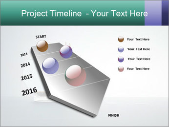 Ladder to Glass Fishbowl PowerPoint Template - Slide 26