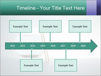 Ladder to Glass Fishbowl PowerPoint Template - Slide 28