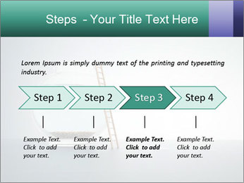 Ladder to Glass Fishbowl PowerPoint Template - Slide 4