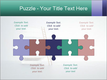 Ladder to Glass Fishbowl PowerPoint Template - Slide 41