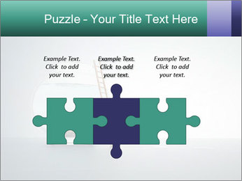 Ladder to Glass Fishbowl PowerPoint Template - Slide 42