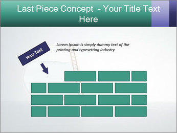 Ladder to Glass Fishbowl PowerPoint Template - Slide 46