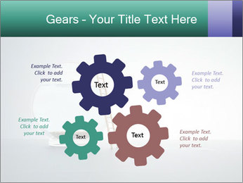 Ladder to Glass Fishbowl PowerPoint Template - Slide 47