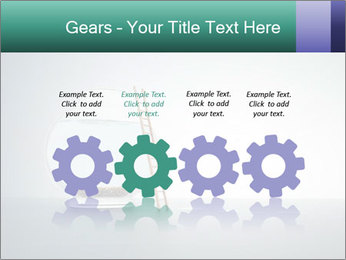 Ladder to Glass Fishbowl PowerPoint Template - Slide 48
