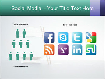 Ladder to Glass Fishbowl PowerPoint Template - Slide 5