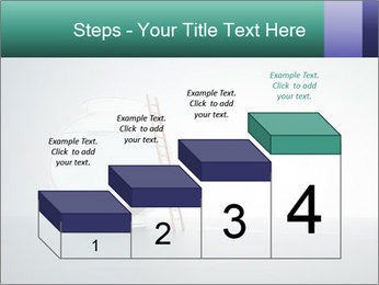 Ladder to Glass Fishbowl PowerPoint Template - Slide 64