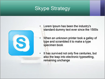 Ladder to Glass Fishbowl PowerPoint Template - Slide 8