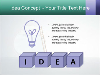 Ladder to Glass Fishbowl PowerPoint Template - Slide 80