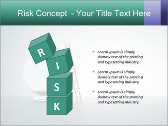 Ladder to Glass Fishbowl PowerPoint Template - Slide 81