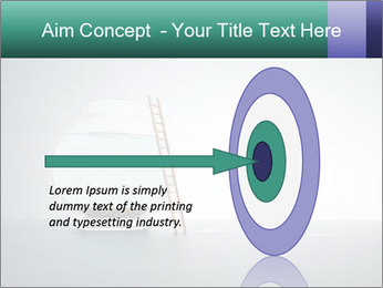 Ladder to Glass Fishbowl PowerPoint Template - Slide 83