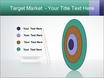 Ladder to Glass Fishbowl PowerPoint Template - Slide 84