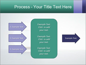 Ladder to Glass Fishbowl PowerPoint Template - Slide 85