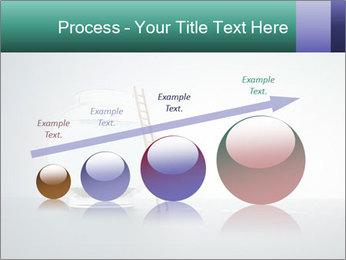 Ladder to Glass Fishbowl PowerPoint Template - Slide 87