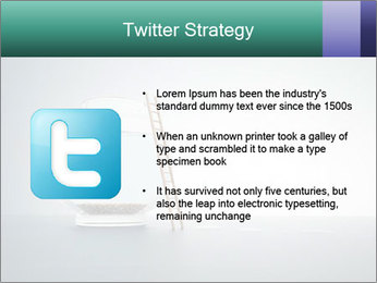 Ladder to Glass Fishbowl PowerPoint Template - Slide 9