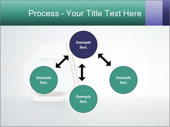 Ladder to Glass Fishbowl PowerPoint Template - Slide 91