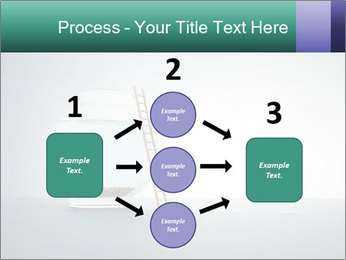 Ladder to Glass Fishbowl PowerPoint Template - Slide 92