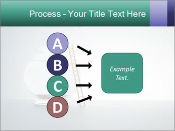 Ladder to Glass Fishbowl PowerPoint Template - Slide 94