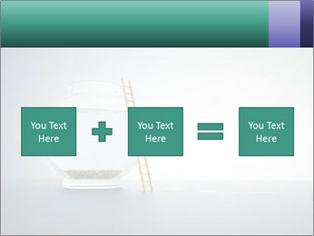 Ladder to Glass Fishbowl PowerPoint Template - Slide 95