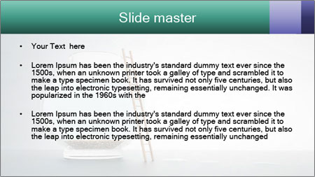 Ladder to Glass Fishbowl PowerPoint Template - Slide 2