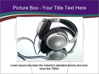 Ipod Earphones PowerPoint Templates - Slide 16