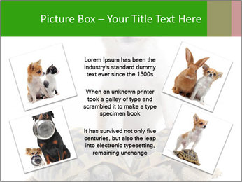 Puppy and Two Turtles PowerPoint Templates - Slide 24