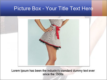 Lady Wearing Sexy Stockings PowerPoint Template - Slide 15