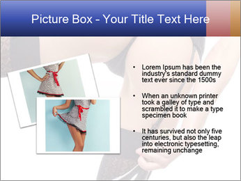 Lady Wearing Sexy Stockings PowerPoint Template - Slide 20